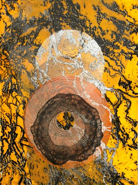 Big Bang 3 (40 x 30 cm, collage on MDF)